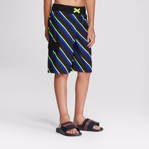 Cat & Jack Boys  Striped Swimwear Swim Suit Bottom